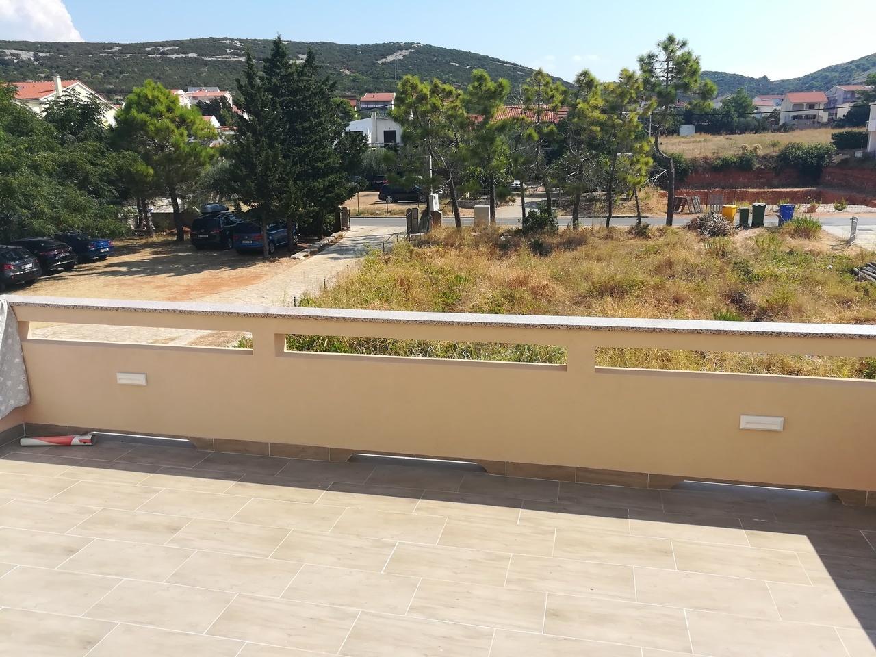 A4+1 hátsó balkon, kilátás